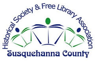 Historical Society and Free Library Association - Susquehanna County logo